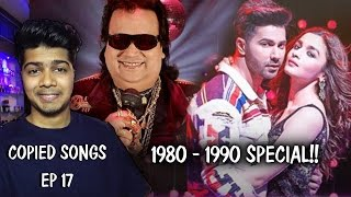 Ep 17   Bappi Lahiri's INSPIRED Bollywood Songs   Plagiarism in bollywood Music   Bappi Da Special