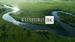 KUSHIRO Hokkaido Japan in 8K HDR - 釧路 [summer ver.]
