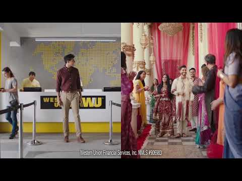 Western Union helps you celebrate their big day, right now