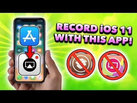*NEW* iOS 11 Screen Recorder in App Store! BEST iOS 11 Screen Recording App!!