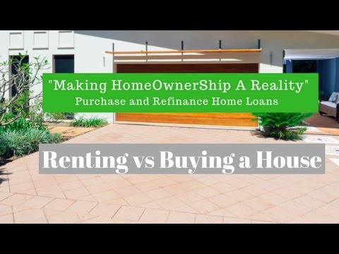 Buying a House vs Renting one - Mortgage vs Rent Payment