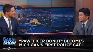 """Pawfficer Donut"" Becomes Michigan"