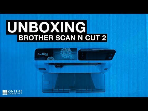 Brother Scan N Cut 2 Unboxing - See What's Inside