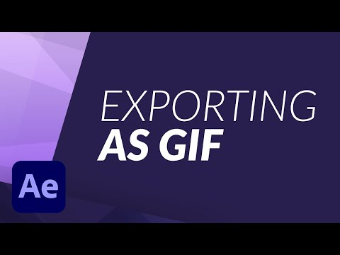 Exporting a GIF made in After Effects using Photoshop