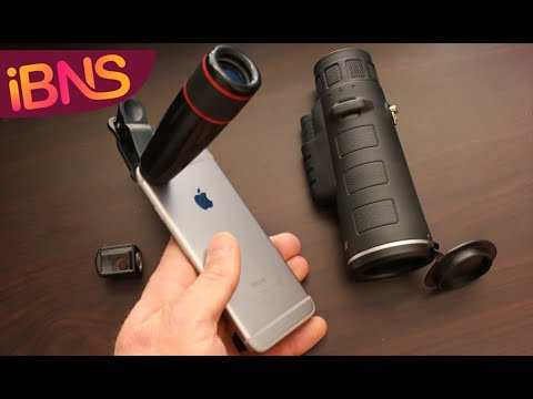 Smartphone Telescope and Periscope Optics Review, Unboxing and GIVEAWAY!