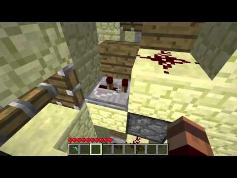 Minecraft - Simple Piston Elevator with Floor Selector