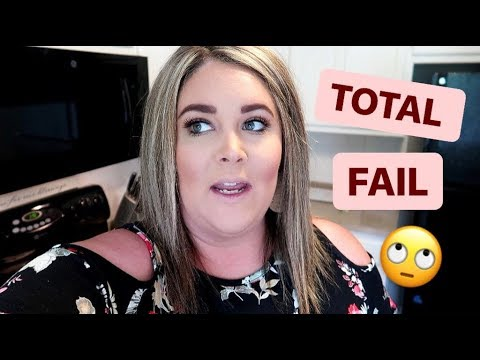 TOTAL FAIL | DAY IN THE LIFE OF A TODDLER MOM