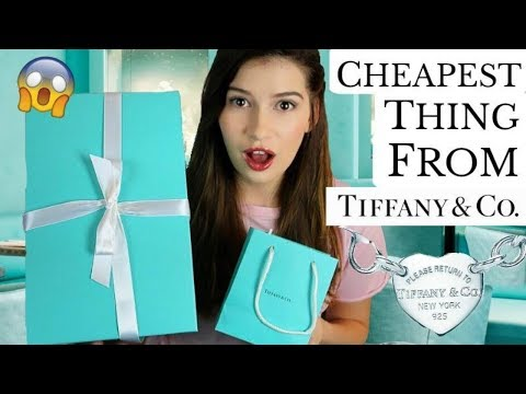 I Buy The Cheapest Thing On Tiffany & Co!