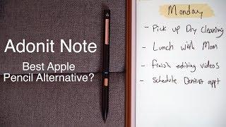 Download $49 Apple Pencil Alternative - Adonit Note! Video