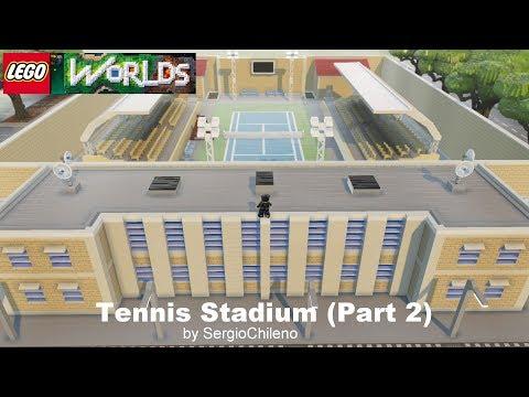 Lego Worlds - Tennis Stadium - Part 2