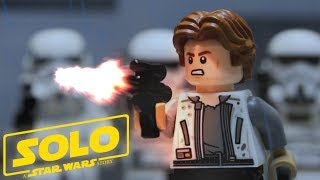 LEGO Solo: A Star Wars Story Corellian Rescue (Stop Motion Animation)