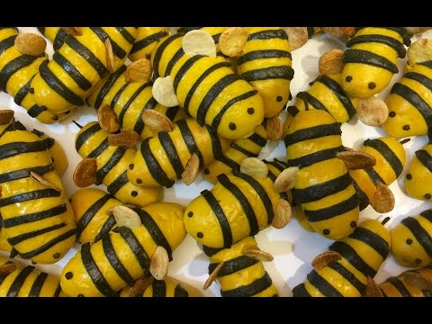 HOW TO MAKE CUTE BUMBLE BEE KABOBS!