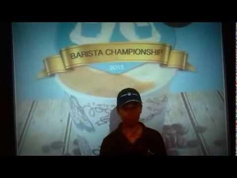 Caribou Coffee Kuwait Barista Championship 2013