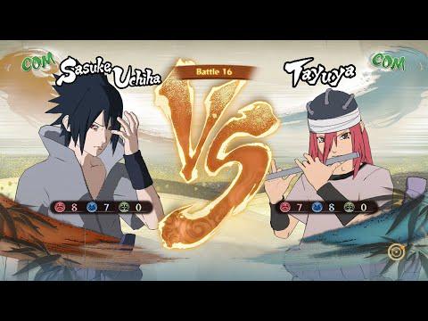 Naruto Shippuden: Ultimate Ninja Storm 4, Sasuke Uchiha (Rinne Sharingan) VS Tayuya!