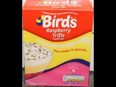 Bird's Raspberry Trifle Preparation & Review