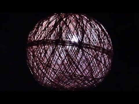 How To Make Your Own Twine Hanging  Lamp - DIY Home Tutorial - Guidecentral