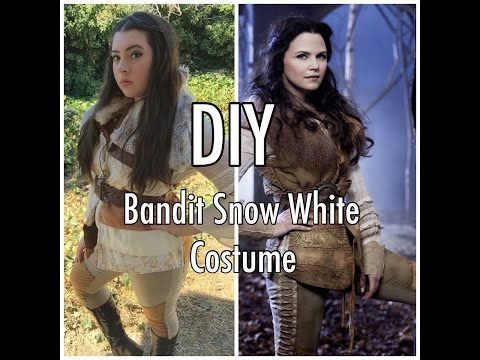 OUAT Bandit Snow White DIY Costume
