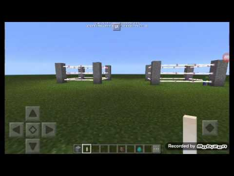How to make boxing ring in mcpe 17.0 beta
