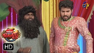 Hyper Aadi Raising Raju Performance | Jabardsth | 26th January 2017| ETV  Telugu
