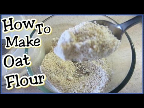 How To Make Oat Flour With The Ninja Blender