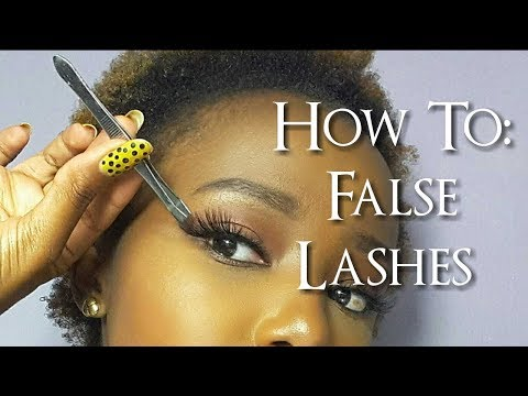How To: Apply, Remove and Clean Strip Lashes + Different Brands Of Lashes