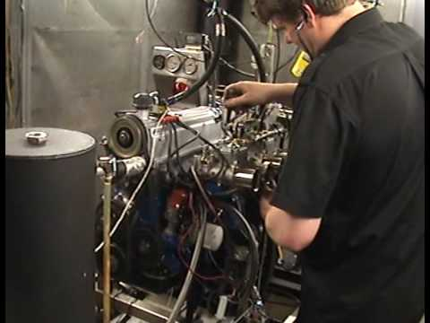 Classic Ford magazine's 2.1 Ford Pinto engine build on HT Racing's dyno