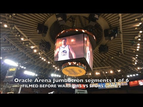 Oracle Arena Jumbotron hype segments 1 of 6 - Championship Factory