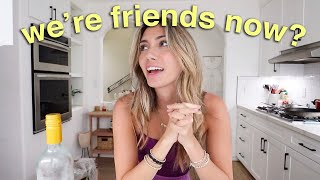 CRAZY NEIGHBOR update - we've become friends? lolol