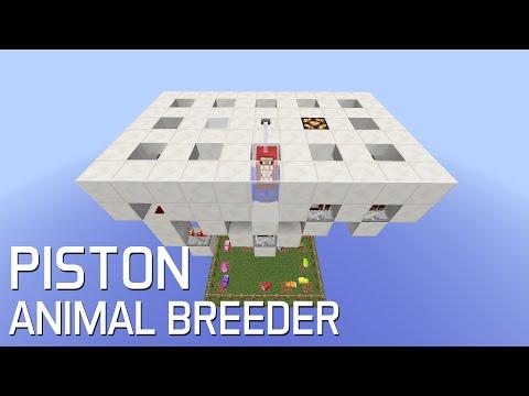 Redstone: 1.9 Piston Animal Breeder [Showcase]