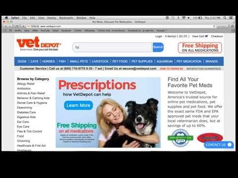 How to Place an Order Online for Prescription Medications