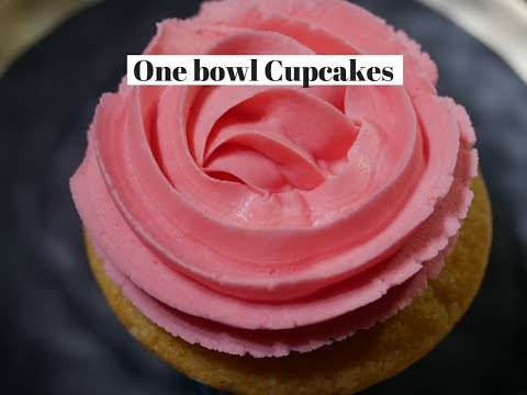 One Bowl Cupcakes