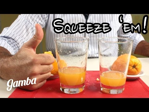 How to Juice Citrus correctly - Food Life Hack