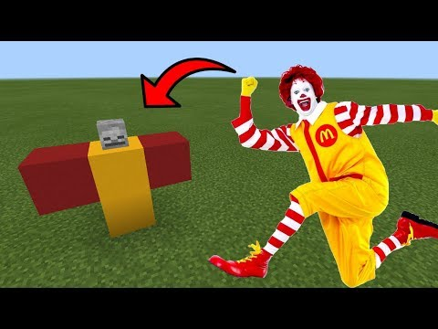 How To Spawn Ronald McDonald in Minecraft PE