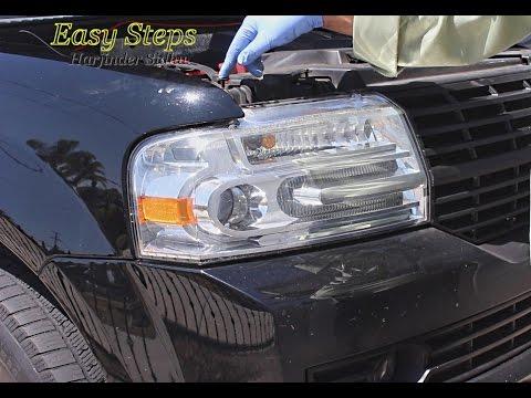 How to change Headlight Bulb on 07-14 Lincoln Navigator | HID Xenon D3S Bulbs