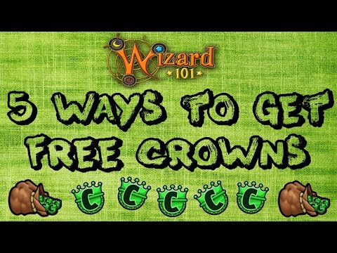 Wizard101: 5 Ways to get free Crowns! [NO HACKS]