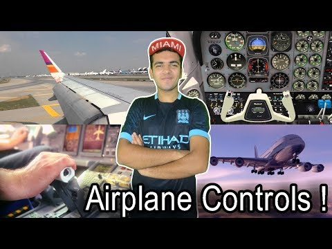 How Does Airplanes Land ? How Does Airplane Moves ? Controls Of An Airplane ! Explained In HINDI !