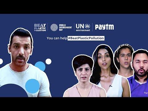 #BeatPlasticPollution   WED   UNEP   Paytm