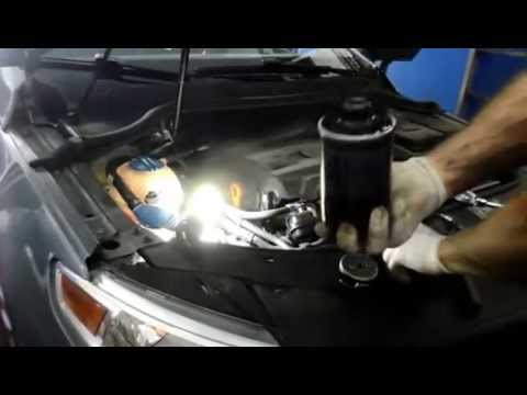 How to change the oil on a  2009 VW CC