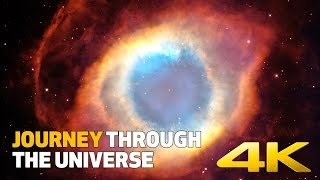 Journey Through the Universe in 4K - Ambient Space Music