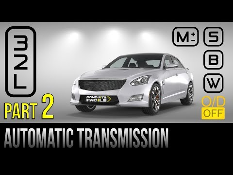 Driving an Automatic Transmission Vehicle - Part 2