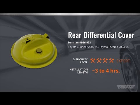 Rear Differential Cover Installation Video by Dorman Products