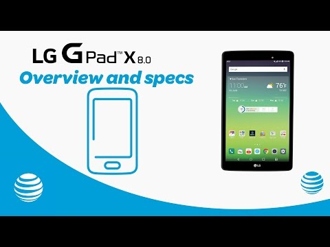 LG G Pad X8.0 Features and Specs | AT&T