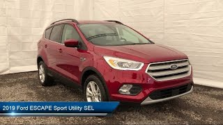 Download 2019 Ford ESCAPE Sport Utility SEL Carthage Watertown Gouverneur Syracuse Utica Video
