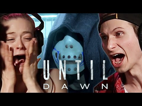 """Scared People Try Not To Die In """"Until Dawn"""" • Ch. 2 Pt. 2"""