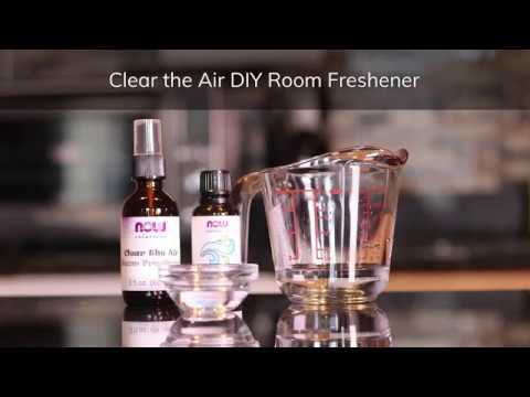 DIY Clear the Air Room Freshener Spray Recipe | NOW Essential Oils