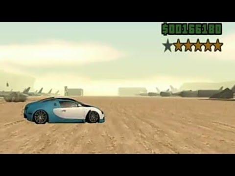 bugatti veyron GTA Grand Theft Auto San Andreas- Bugatti Veyron