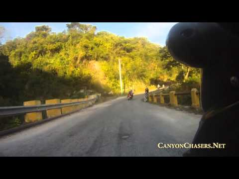 Motorcycle ride along the southern coastline of the Dominican Republic