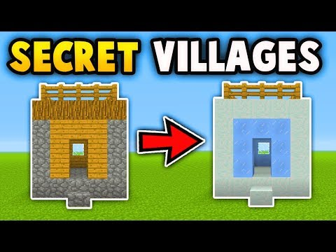 Minecraft: How To Find Secret Villages(Ps3/Xbox360/PS4/XboxOne/WiiU)