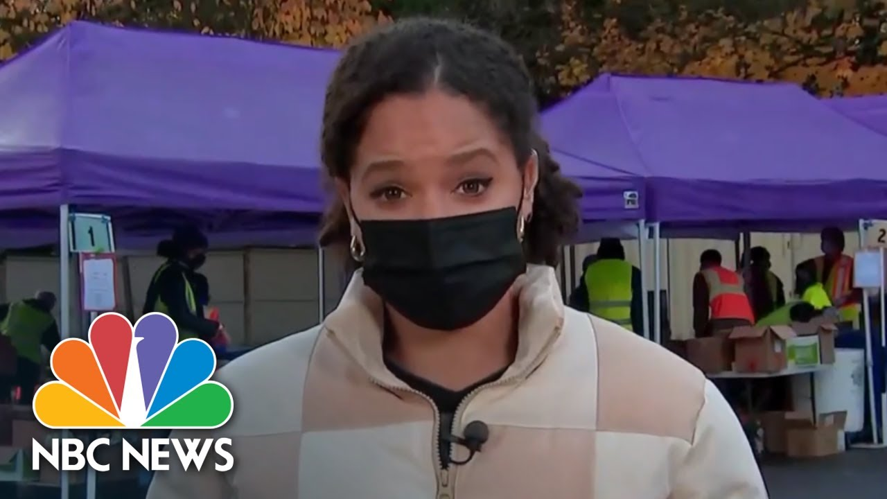 Iowa Covid Positivity Rate Hits 50 Percent As Cases Rise Across The Country | NBC News NOW