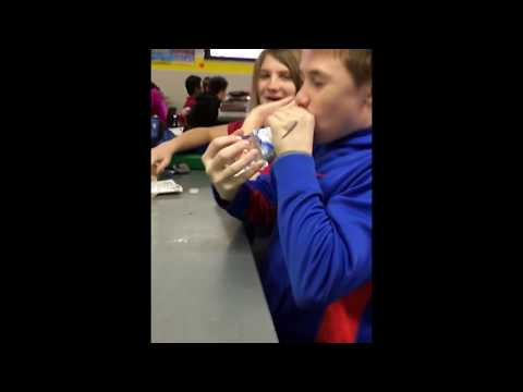 Kid drinks water bottle in 1 second (MUST WATCH!!)